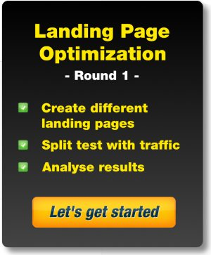 Landing Page Optimization - Getting One
